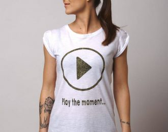 Play the moment con glitter